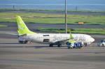 ちかぼーさんが、羽田空港で撮影したソラシド エア 737-81Dの航空フォト(写真)