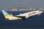 キイロイトリ1005fさんが、羽田空港で撮影したAIR DO 737-781の航空フォト(写真)
