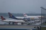 VIPERさんが、千歳基地で撮影したアトラス航空 747-446の航空フォト(写真)