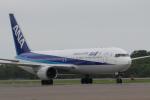 sakanayahiroさんが、釧路空港で撮影した全日空 767-381/ERの航空フォト(写真)