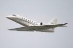 なごやんさんが、中部国際空港で撮影したノエビア 680 Citation Sovereignの航空フォト(写真)