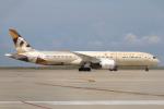 なごやんさんが、中部国際空港で撮影したエティハド航空 787-9の航空フォト(写真)