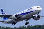 いっち〜@RJFMさんが、宮崎空港で撮影した全日空 777-281/ERの航空フォト(写真)