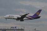 amagoさんが、成田国際空港で撮影したタイ国際航空 A380-841の航空フォト(写真)