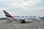 なないろさんが、北京首都国際空港で撮影したエミレーツ航空 A380-861の航空フォト(写真)