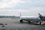 なないろさんが、北京首都国際空港で撮影した中国国際航空 777-39L/ERの航空フォト(写真)