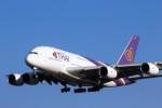 TRdenさんが、成田国際空港で撮影したタイ国際航空 A380-841の航空フォト(写真)