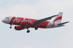 かみじょー。さんが、シンガポール・チャンギ国際空港で撮影したエアアジア・インドネシア A320-216の航空フォト(写真)