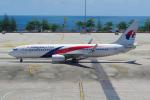 PASSENGERさんが、プーケット国際空港で撮影したマレーシア航空 737-8H6の航空フォト(写真)