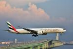 we love kixさんが、関西国際空港で撮影したエミレーツ航空 777-31H/ERの航空フォト(写真)