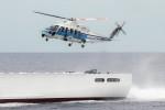 TRdenさんが、小樽付近で撮影した海上保安庁 S-76Cの航空フォト(写真)