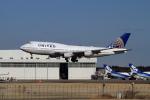 maverickさんが、成田国際空港で撮影したユナイテッド航空 747-422の航空フォト(写真)