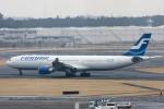maverickさんが、成田国際空港で撮影したフィンエアー A330-302Xの航空フォト(写真)