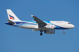 PASSENGERさんが、スワンナプーム国際空港で撮影したバンコクエアウェイズ A319-131の航空フォト(写真)