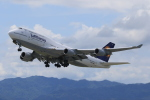 みるぽんたさんが、関西国際空港で撮影したルフトハンザドイツ航空 747-430の航空フォト(写真)