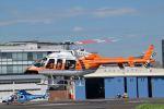 Mizuki24さんが、東京ヘリポートで撮影した新日本ヘリコプター 407の航空フォト(写真)
