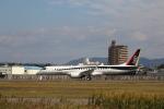 taishiさんが、名古屋飛行場で撮影した三菱航空機 MRJ90STDの航空フォト(写真)