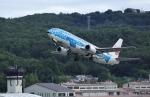 tutomuさんが、岡山空港で撮影した日本トランスオーシャン航空 737-4Q3の航空フォト(写真)