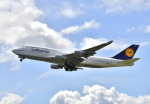 kix-boobyさんが、関西国際空港で撮影したルフトハンザドイツ航空 747-430の航空フォト(写真)