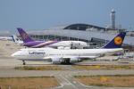 ニャン吉さんが、関西国際空港で撮影したルフトハンザドイツ航空 747-430の航空フォト(写真)