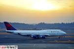 狭心症さんが、成田国際空港で撮影したデルタ航空 747-451の航空フォト(写真)