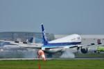 おかめさんが、成田国際空港で撮影した全日空 777-381/ERの航空フォト(写真)