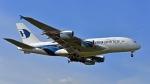 flytaka78さんが、ロンドン・ヒースロー空港で撮影したマレーシア航空 A380-841の航空フォト(写真)