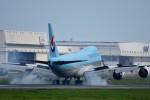 おかめさんが、成田国際空港で撮影した大韓航空 747-8B5F/SCDの航空フォト(写真)