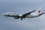 Kenny600mmさんが、福岡空港で撮影した中国国際航空 737-86Nの航空フォト(写真)
