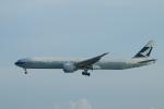 reonさんが、香港国際空港で撮影したキャセイパシフィック航空 777-367/ERの航空フォト(写真)