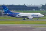 PASSENGERさんが、アムステルダム・スキポール国際空港で撮影したエア・トランザット A310-304の航空フォト(写真)