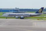 PASSENGERさんが、アムステルダム・スキポール国際空港で撮影したシンガポール航空カーゴ 747-412F/SCDの航空フォト(写真)