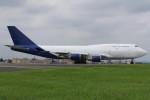 マリオ先輩さんが、横田基地で撮影したウエスタン・グローバル・エアラインズ 747-446(BCF)の航空フォト(写真)