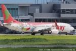 tabi0329さんが、佐賀空港で撮影したティーウェイ航空 737-8Q8の航空フォト(写真)