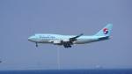てつさんが、関西国際空港で撮影した大韓航空 747-4B5の航空フォト(写真)