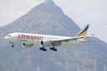 Masahiro0さんが、香港国際空港で撮影したエチオピア航空 777-F60の航空フォト(写真)