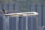 Masahiro0さんが、香港国際空港で撮影したシンガポール航空 A350-941XWBの航空フォト(写真)