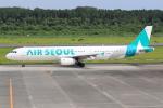NH642さんが、熊本空港で撮影したエアソウル A321-231の航空フォト(写真)