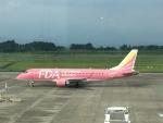 Tatsu mitsuさんが、鹿児島空港で撮影したフジドリームエアラインズ ERJ-170-200 (ERJ-175STD)の航空フォト(写真)