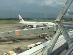 Tatsu mitsuさんが、鹿児島空港で撮影した日本航空 767-346/ERの航空フォト(写真)