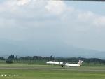 Tatsu mitsuさんが、鹿児島空港で撮影した日本エアコミューター DHC-8-402Q Dash 8の航空フォト(写真)