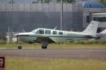 DONKEYさんが、宮崎空港で撮影した日本個人所有 A36 Bonanza 36の航空フォト(写真)