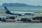 uhfxさんが、サンフランシスコ国際空港で撮影したアラスカ航空 737-990/ERの航空フォト(写真)