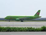 KIX787-9さんが、関西国際空港で撮影したS7航空 A320-214の航空フォト(写真)