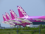 KIX787-9さんが、関西国際空港で撮影したピーチ A320-214の航空フォト(写真)