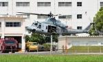 青い翼に鎧武者マークの!さんが、八尾空港で撮影したアメリカ海兵隊 UH-1Yの航空フォト(写真)