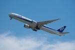 lonely-wolfさんが、関西国際空港で撮影した全日空 777-381/ERの航空フォト(写真)