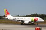 とらとらさんが、フランシスコ・デ・サカルネイロ空港で撮影したTAP ポルトガル航空 A319-111の航空フォト(写真)