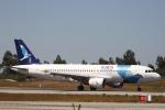 とらとらさんが、フランシスコ・デ・サカルネイロ空港で撮影したSATA インターナショナル A320-214の航空フォト(写真)