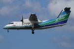 カンクンさんが、福岡空港で撮影したオリエンタルエアブリッジ DHC-8-201Q Dash 8の航空フォト(写真)